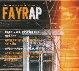 Fayrap Dergisi, Sayı 111, Ağustos 2018