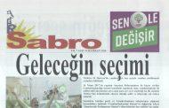 Sabro Gazetesi, Sayı 76, Haziran 2018