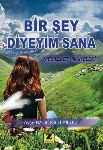 Kitap:BİR ŞEY DİYEYİM SANA,Memleket Hikâyeleri,Ayşe Kadıoğlu YILDIZ / Zinde Yayıncılık