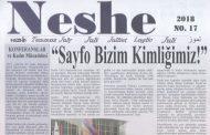 Neshe Bülteni, Sayı 17, Temmuz 2018