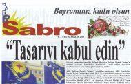 Sabro Gazetesi, Sayı 82, Aralık 2018