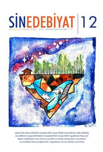 Sinedebiyat Şiir ve Edebiyat Dergisi, Sayı 12, Eylül Ekim 2018