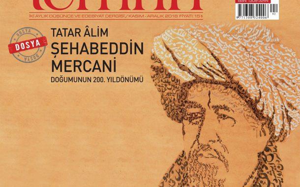 Temrin İki Aylık Edebiyat Dergisi, Sayı 92, Kasım Aralık 2018