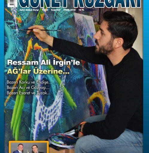 Güney Rüzgarı Dergisi, Sayı 225, Ocak 2019
