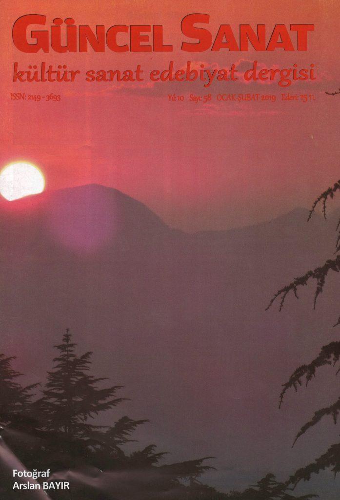 Güncel Sanat Dergisi, Sayı 58