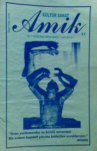 Amik Dergisi, Sayı 12