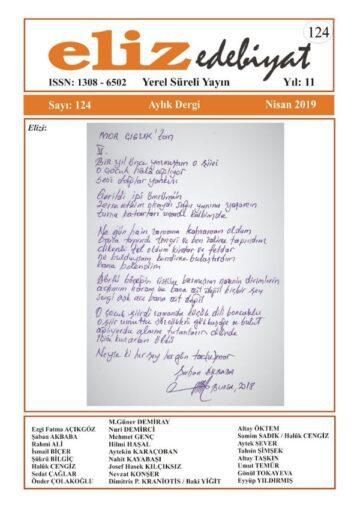 Eliz Edebiyat Dergisi, Sayı 124