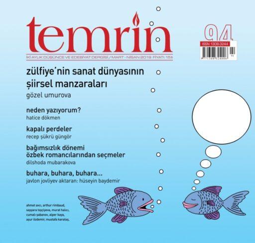 Temrin Düşünce ve Edebiyat Dergisi, Sayı 94