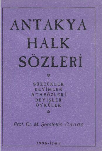 Antakya Halk Sözleri, Şerafettin Canda