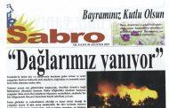 Sabro Gazetesi, Ağustos 2019