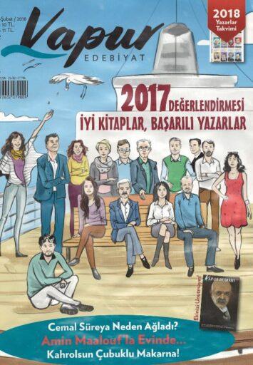 Vapur Edebiyat Dergisi, Şubat 2018