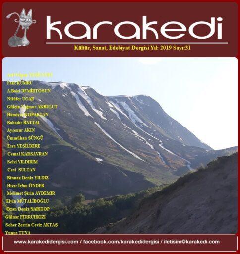 Karakedi Dergisi, Sayı 31