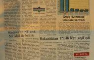 Computer World Monitör Gazetesi, 11 Mayıs 1992, sayı 128