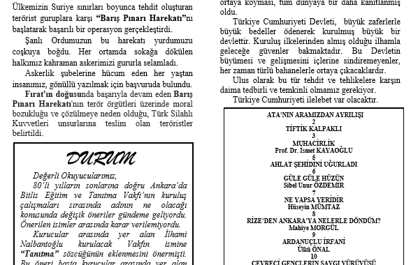 Ahlat Gazetesi, Sayı 228
