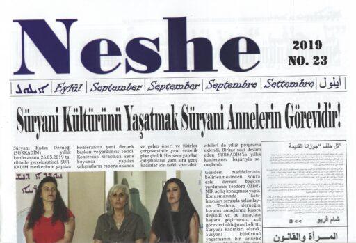 Neshe Bülteni, Sayı 23, Eylül 2019