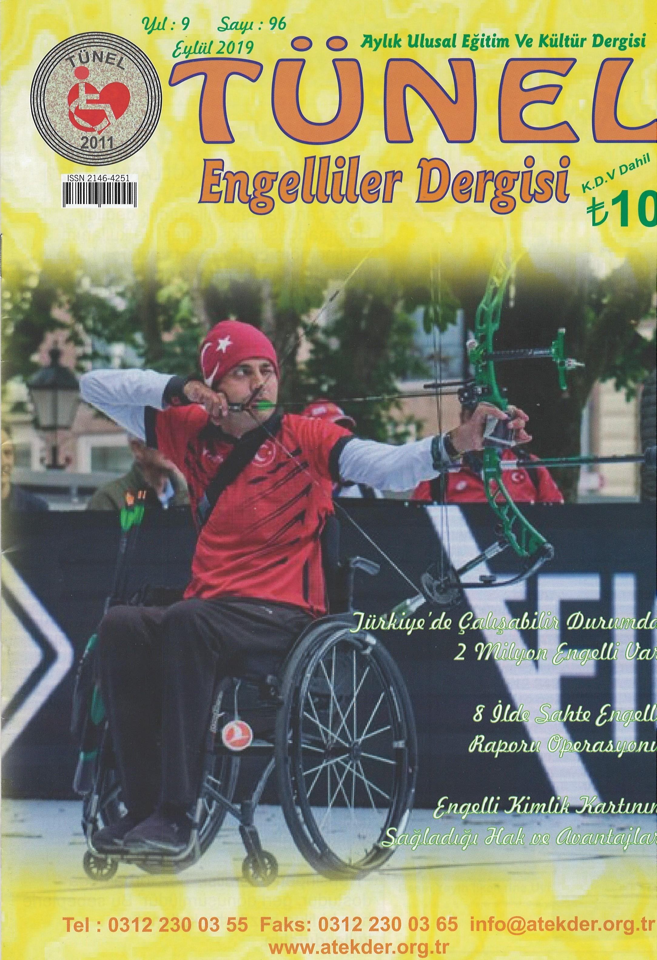 Tünel Engelliler Dergisi, Sayı 96