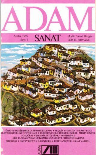 Adam Sanat Dergisi, Aralık 1985