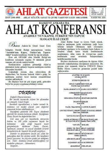 Ahlat Gazetesi, Sayı 223