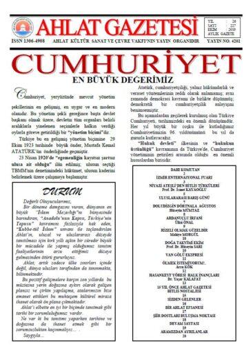 Ahlat Gazetesi, Sayı 227