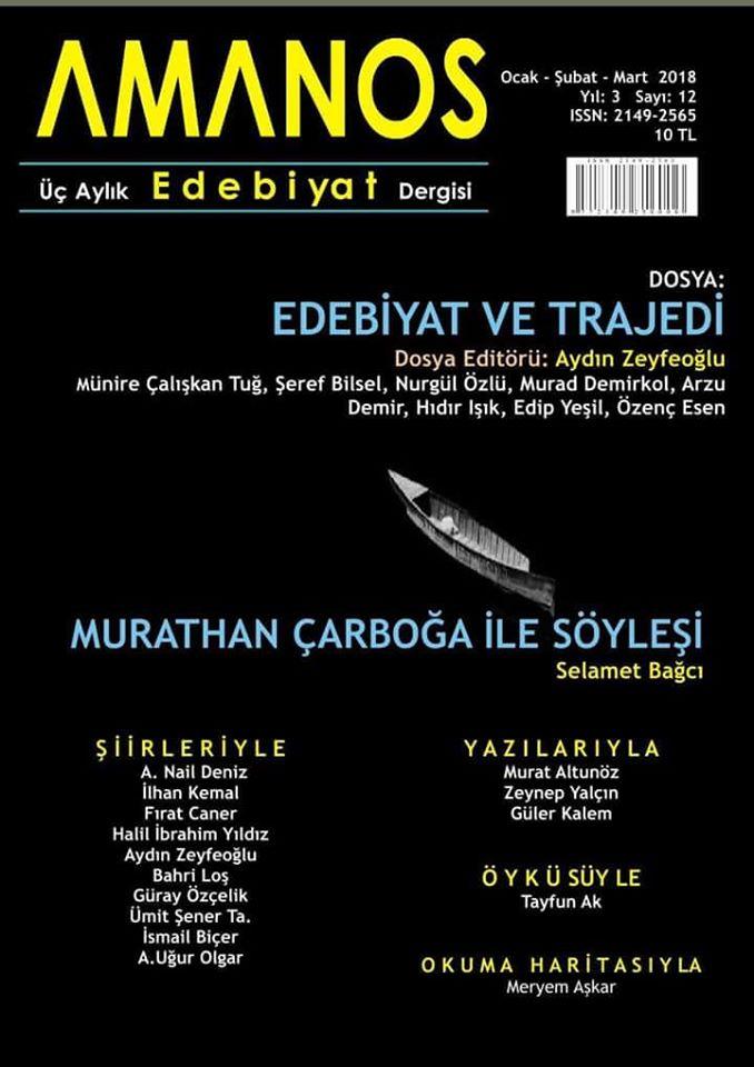 Amanos Edebiyat Dergisi, Sayı 12
