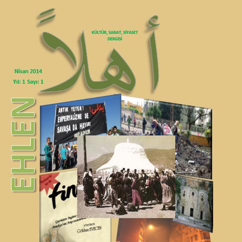 Ehlen Dergisi, Sayı 1, Nisan 2014