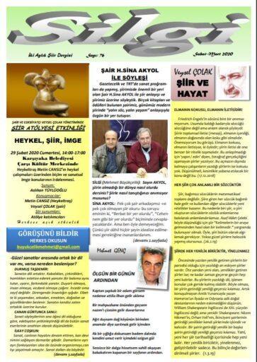 Silgi Dergisi, Sayı 76