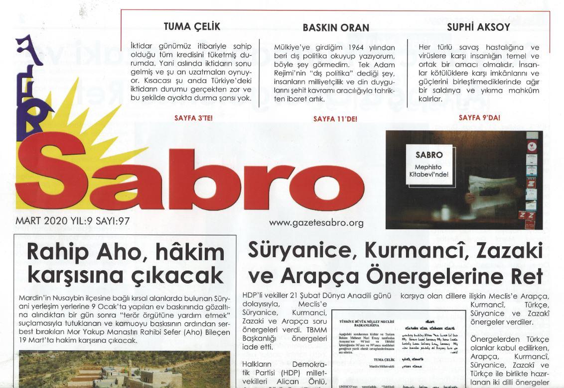 Sabro Gazetesi, Sayı 97