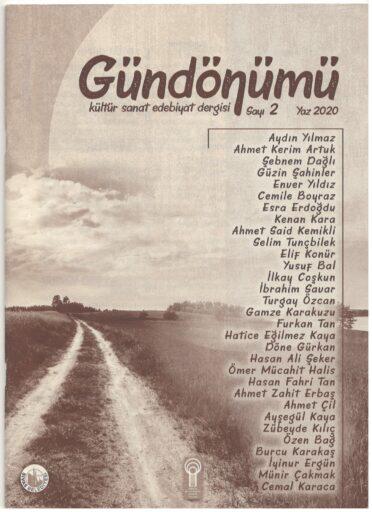 Gündönümü Kültür Sanat ve Edebiyat Dergisi, Sayı 2