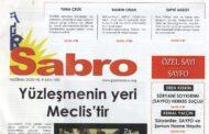 Sabro Gazetesi, Haziran 2020, Sayı 100