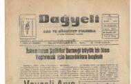 Hatay, Kırıkhan, Dağyeli Gazetesi, 23 Mart 1973