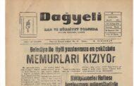 Hatay, Kırıkhan, Dağyeli Gazetesi, 28 Mart 1973