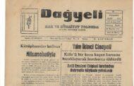 Hatay, Kırıkhan, Dağyeli Gazetesi, 29 Mart 1973