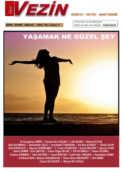 Yeni Vezin Dergisi, Sayı 5