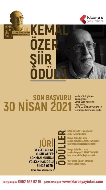 Kemal Özer Şiir Ödülü