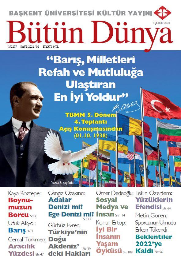 Bütün Dünya Dergisi, Şubat 2021