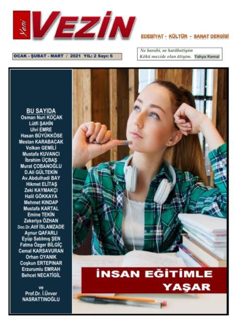 Yeni Vezin Dergisi, Sayı 6