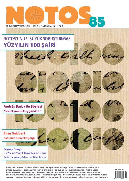 Notos Dergisi, Sayı 85