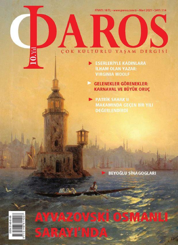 Paros Dergisi, Mart 2021