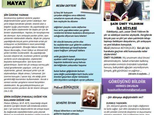Silgi Dergisi, Sayı 84