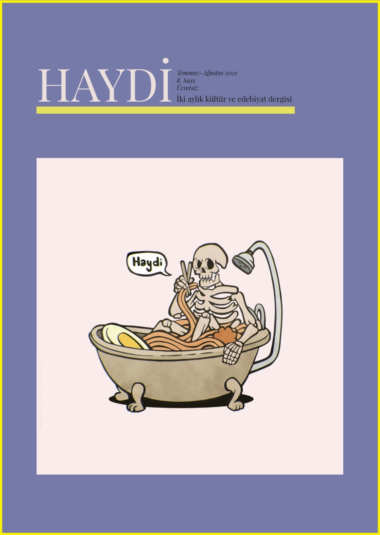 Haydi Dergisi, Sayı 8