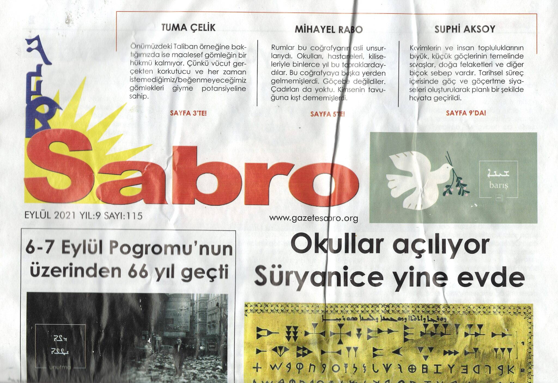 Sabro Gazetesi, Eylül 2021, Sayı 115