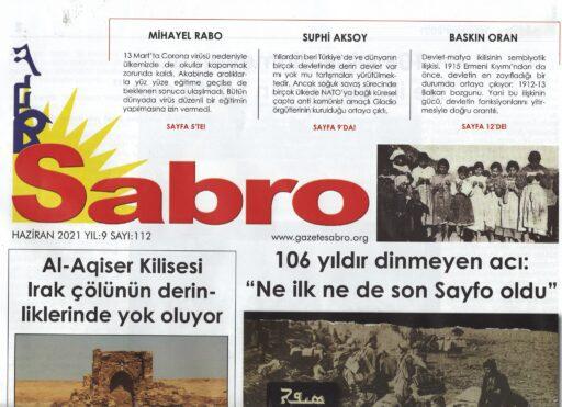 Sabro Gazetesi, Haziran 2021