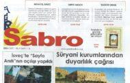 Sabro Gazetesi, Sayı 116, Ekim 2021